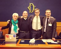 Three days of action for nuclear disarmament in Italy, with Daniel Högsta