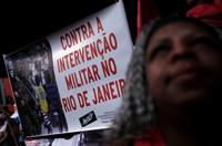 Brasile: Temer dichiara guerra alle favelas di Rio