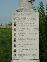 I sette i giovani trucidati dai nazifascisti nel 1944
