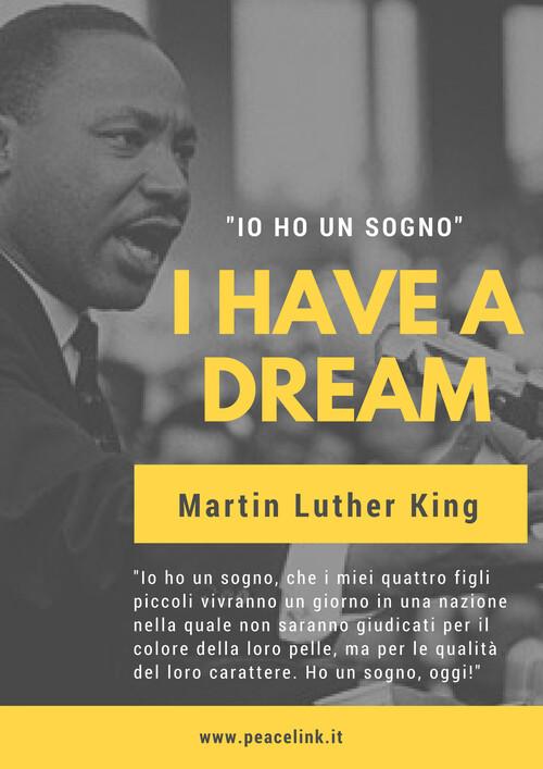 Il 4 aprile del 1968 veniva assassinato Martin Luther King. Condividete e diffondete questo post fra i vostri contatti.