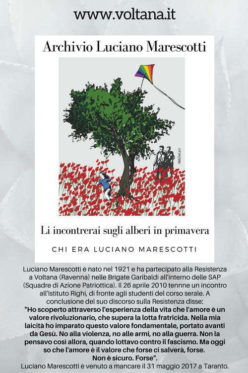 Il libro su Luciano Marescotti