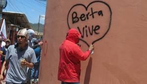 Manifestazione per Berta Cáceres a La Esperanza (Foto G. Trucchi | Rel-UITA)