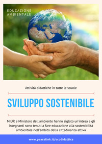 Come fare educazione ambientale per lo sviluppo sostenibile?