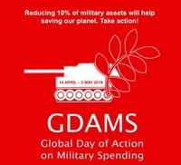 Ridurre del 10% la spesa militare può salvare il nostro Pianeta! Agisci!