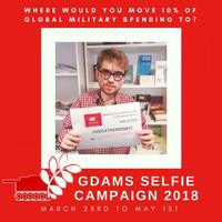 """La """"Campagna di selfie"""" per i GDAMS 2018 sulla spesa militare"""