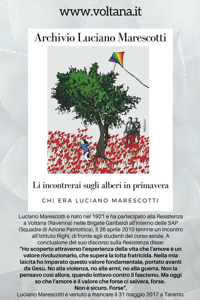 Il libro dedicato a Luciano Marescotti e alla sua memoria