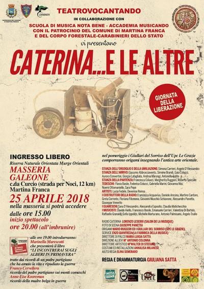 25 aprile 2018 a Martina Franca