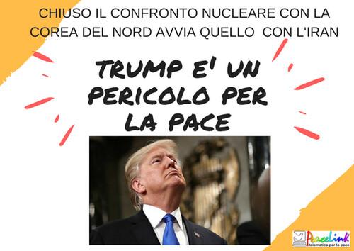 Trump, un pericolo per la pace nel mondo