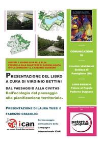 Dal Paesaggio alla Civitas. Dall'Ecologia del Paesaggio alla pianificazione territoriale