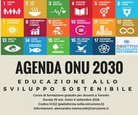 Agenda ONU 2030 ed educazione allo sviluppo sostenibile