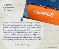 Cosa prevedono le convenzioni internazionali sul soccorso in mare