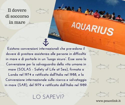Dovere di soccorso in mare