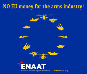 No EU money for the arms industry!