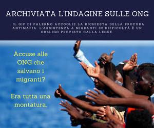 Campagna contro le ONG che salvano i migranti