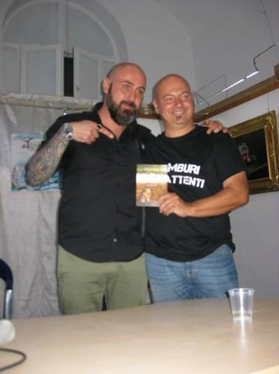 Mimmo Laghezza e Vincenzo De Marco due scrittori di Taranto sempre in prima linea contro il Mostro d'acciaio