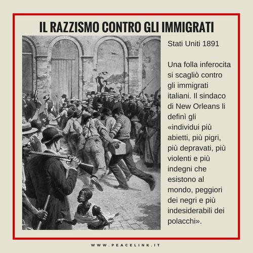 Razzismo contro immigrati italiani, New Orleans 1891