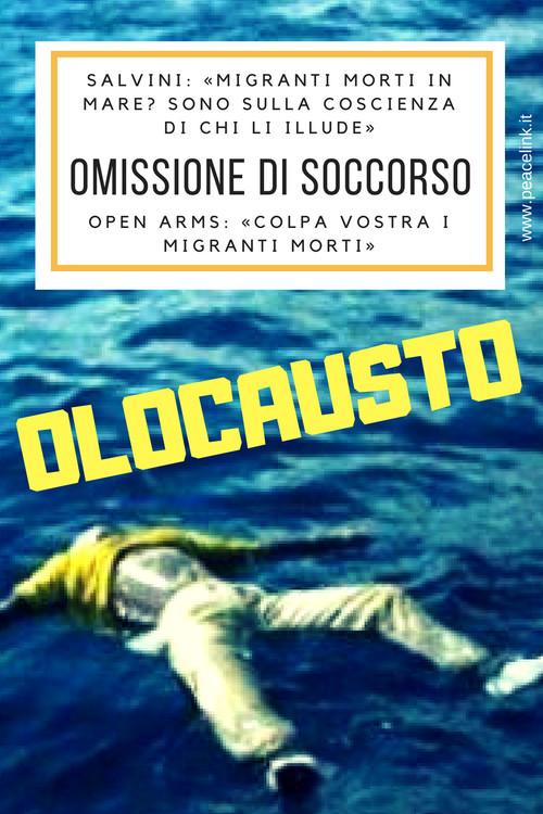Olocausto nel Mediterraneo