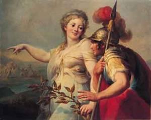 Didone, regina di Cartagine, ed Enea