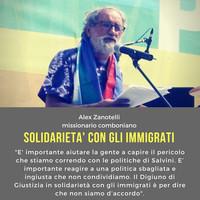 Appello di Alex Zanotelli sugli immigrati