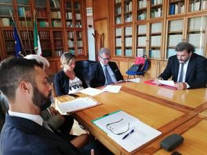 Incontro al Ministero della Salute con il ministro Giulia Grillo