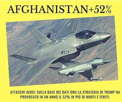 Utilizzato l'F-35 in Afghanistan pr la prima volta nel settembre 2018