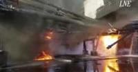 Va a fuoco la cokeria di Arcelor Mittal in Spagna
