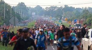 Caravana de Migrantes (Foto AFP)