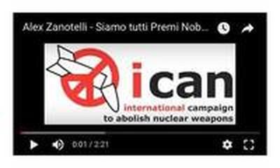 Siamo tutti Premi Nobel per la Pace con ICAN