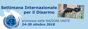 Settimana ONU Disarmo 2018