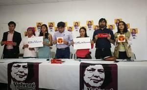 Conferenza stampa famigliari di Berta Cáceres e Copinh (Foto Copinh)