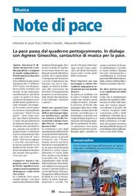 Mosaico di Pace - Note di Pace: dialoghi con Agnese