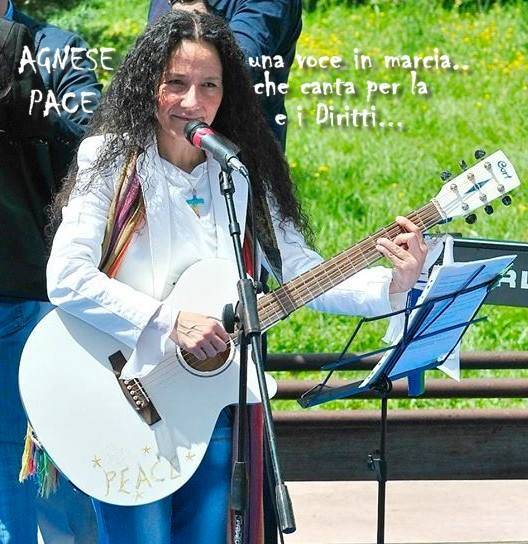 Agnese Ginocchio e la musica per la Pace