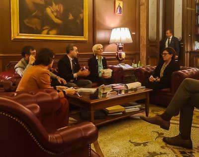 Incontro Rete Disarmo Ministra Elisabetta Trenta