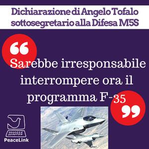 F-35, governo contrario allo stop del programma