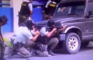 repressione di Arena a Santa Tecla