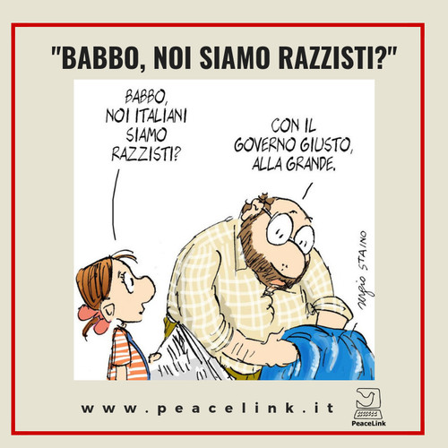 """Babbo, noi italiani siamo razzisti?"""