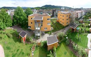 Il quartiere di Vauban a Friburgo