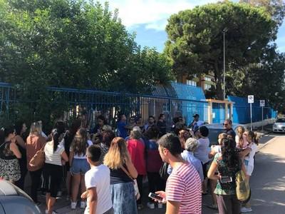 Le scule del quartiere Tamburi di Taranto