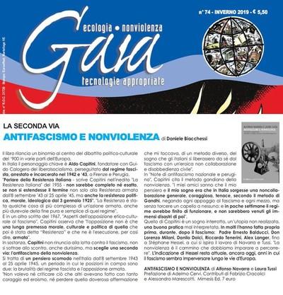 Recensione di Daniele Biacchessi al Libro Antifascismo e Nonviolenza