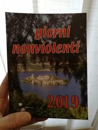 Agenda Giorni Nonviolenti 2019