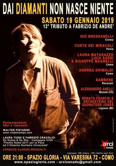 Concerto-Tributo per Fabrizio De André