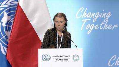 Greta Thunberg alla COP24