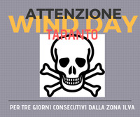 Per tre giorni consecutivi pericolo Wind Day a Taranto