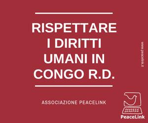 Rispettare i diritti umani nella Repubblica Democratica del Congo