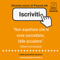 PeaceLink, la newsletter di ottobre