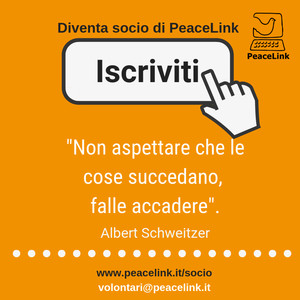 Diventa socio di PeaceLink