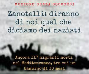 """Le parole di padre Alex Zanotelli di fronte all'ultima tragedia dei migranti: """"Diranno di noi quel che diciamo dei nazisti""""."""