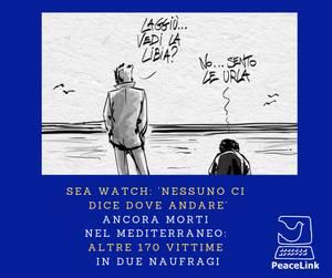 Sea Watch sta salvando migranti ma nessuno la aiuta