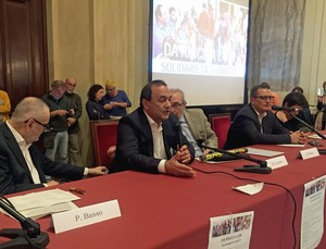 Mimmo Lucano a Milano, Sala Alessi