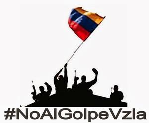 No al golpe in Venezuela